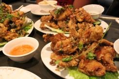 Chicken Wings + Frog Legs
