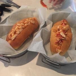 Lobster + Shrimp Rolls