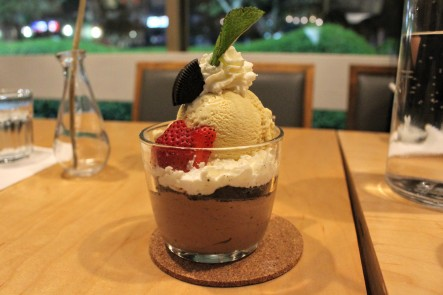 Chocolate Mousse Parfait