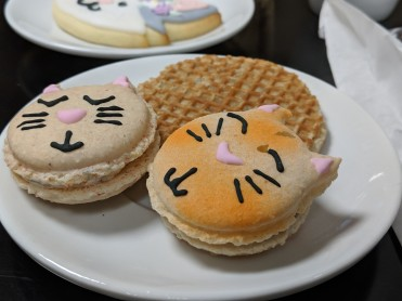 Macarons and Stroopwafel