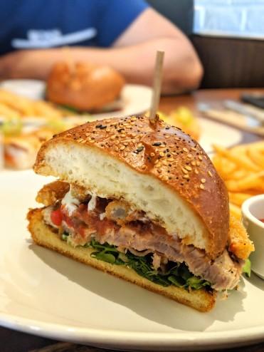 Ahi Tuna Club w/ Fries