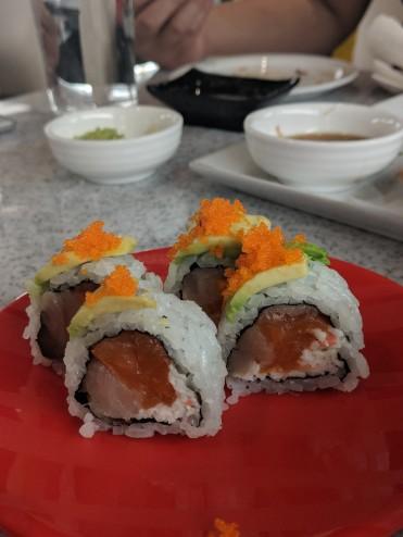 Samurai Roll ($5/4pcs)