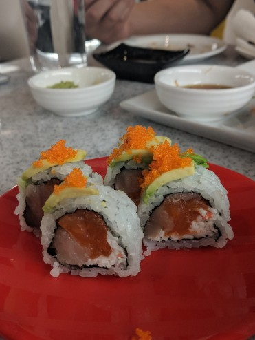 Samurai Roll ($5/4pcs)