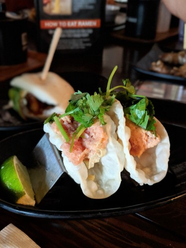 Spicy Tuna Mini Tacos