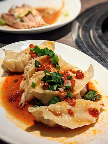 Steamed Chilli Dumplings