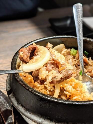 Sukiyaki bibimbap